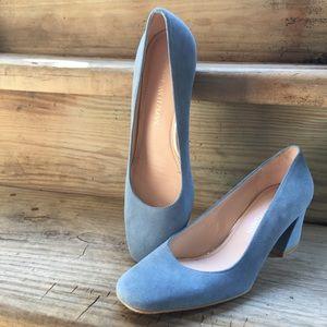 Stuart Weitzman marymid pump powder blue heels 7.5